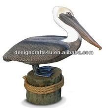 Handmade Life Size Pelican Statues