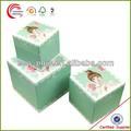 de haute qualité de fantaisie imprimé boîte de cadeau de chocolat à shanghai
