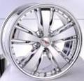 Magnifique design automobile roues en alliage d'aluminium rimes