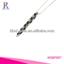 crystals beaded promotional led pen KDBP012