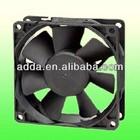 ADDA induced draft fan 80X80X25mm 12v dc cooling fan AS8025