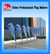 Advertising custom logo outdoor teardrop banner