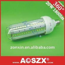 2011 NEW 12V LED Corn light high 20W power 1800LM E27 E40 24V 220V 230V 110V energy saving light+48hours test