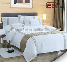 cotton embroidery luxury bedding set king size