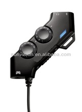 headset Volume Control for ps3/XBX-360/pc Gaming Headset Splitter