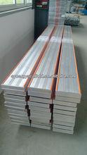 aluminum trestle, aluminum plank