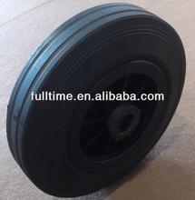14 inch solid rubber wheel for wheelbarrow