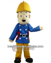 new fashion cool fireman sam mascot costume in the fireman sam