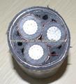 Aluminio concéntrico cable awg 2*6