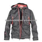 Polyester brown Mens Waterproof Jacket