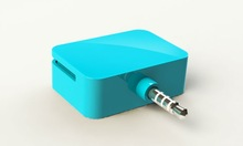3.5mm Headphone Jack Mini Magnetic Mobile Card Reader Works with Apple and Android iOS, Compatible with iPhone--emag