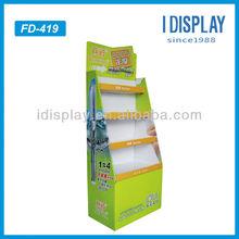 cardboard carton display stands for gel pens