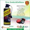 REACH,RoHs,SGS, tyre repair spray tyre sealer inflator