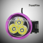 Outdoor high quality bike/bycicle head light T6,headlamp led white trustfire D008 2000LM 8.4v rechargeable bicycle light