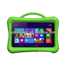 """8.1"""" tablet silicon case cover for Acer W3-810, heavy duty silicon case with handle shock proof"""