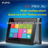 "2014 Newest PIPO M6 PRO 3G Quad core tablet PC 2GB ram 16GB/32GB rom 9.7"" Screen Quad Core GPU dual camera wifi 3G OTG tablet"