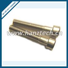 titanium rounded head hex socket cap screws