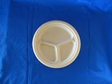 9'*3com round plate dinner tableware