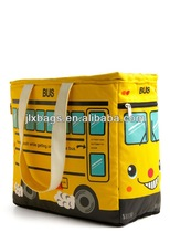 Alibaba China manufacture kids backpack bag & bus design kid bag