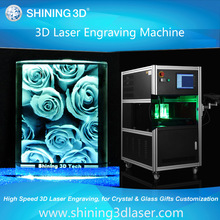 3D photo crystal/ 3d crystal/ crystal photo engraving machine