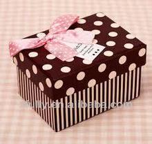 loving fancy polka dot gift boxes