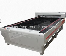 SF1325G high precision co2 acrylic templates laser cutter