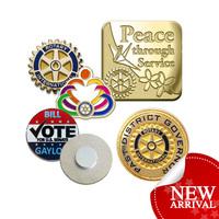 Magnetic metal pin badge lapel pin magnetic pin