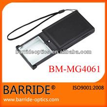 Sliding Pocket Size Magnifying Glass with LED for Reading(BM-MG4061)