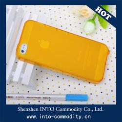 For Cell Phone Case / Matt TPU Bumper Case For Iphone 5