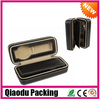 2014 popular black leather portable watch box gift wholesale
