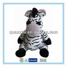 Custom classical zebra stuffed animals toys for kids