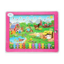 shenzhen XHAIZ wholesale music,English music-farm intelligent early learning centre toys laptop