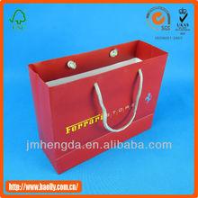 Fashion New Design Wholesale Luxury Paper Shopping Bag