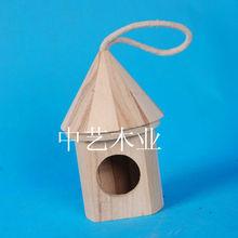 wooden decorative animal bird house