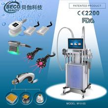CE approval!BECO cryo lipo laser rf lift cryolipolysis vacuum massage venus fat freeze slimming beauty machine M10-5S