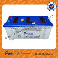 N150 12V150AH scrap used car battery for truck