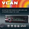 VCAN0739 Detachable front panel Single-Din radio pen drive player