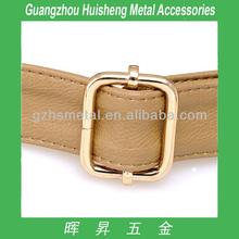 High Quality Fashion Style Metal Suspender Adjustable Buckle Metal Belt Buckle Nickle Color Belt Buckle