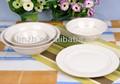 grossista branco porcelana pratos