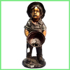 indoor brass child sculpture BFSN-B169
