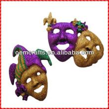 Custom handmade resin jester Ugly halloween mask