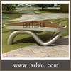 antique wooden garden bench (Arlau FW205)