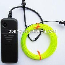 New Polar light 2.3mm EL Wire With Higher Brightness