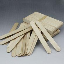 Bulk Factory Direct Low Price Beveled Edge Flat Popsicle Stick