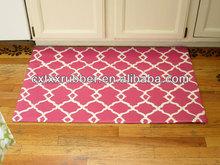 rubber flocking door mats
