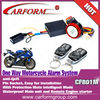 High quality motorcycle alarm with remote start
