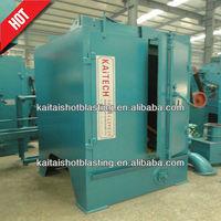 KAITECH Hook wheel blast blasting brushing machine for steel frame