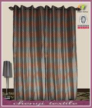 2014 New Faux silk window curtain