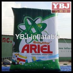 giant advertising inflatable washing powder /inflatable washing powder for advertising