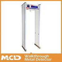 6 Zones Walk Through Gun Metal Detector MCD-800A